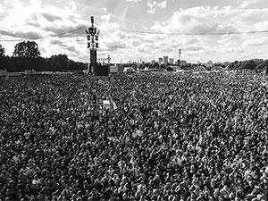 Ochlophobie, la peur des foules